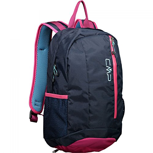CMP Unisex Kids Rebel 10L Backpack for Rucksack, Navy-Pink Fluo-A.Marina, U