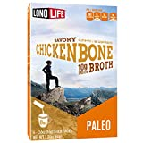 LonoLife Chicken Bone Broth Powder with 10g Protein, Paleo and Keto Friendly, Stick Packs, 24 Count