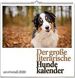 Der große literarische Hunde-Kalender 2020: Wandkalender mit 12 Farbfotografien
