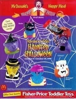 McDonalds - Haunted Halloween Happy Meal Set - 1998