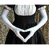 ロング手袋 コスチューム用小物 ホワイト