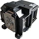 azurano Beamer-Ersatzlampe für EPSON EH-TW550   Beamerlampe mit Gehäuse   Kompatibel mit EPSON ELPLP67, V13H010L67