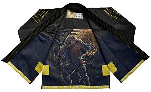 Raven Fightwear BJJ Gi Horror Werewolf...