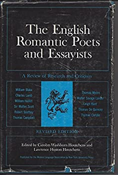 Hardcover English Romantic Poets & Essayists, The: A Review Of Research And Book