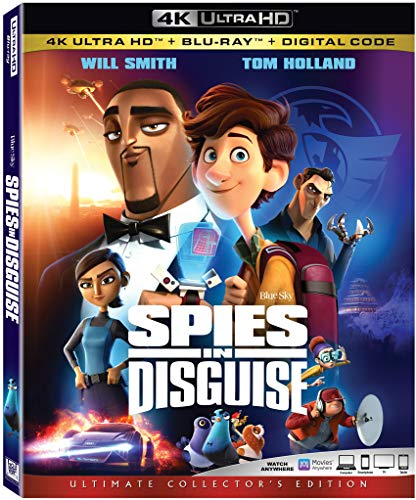 Spies in Disguise [Blu-ray]