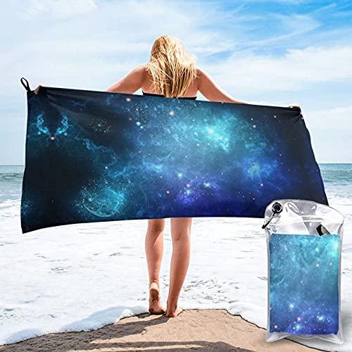 Blue Star Telo da spiaggia Plus Size Beach Towel, Bath Towel, Pool Towels,Microfiber Towel, Shower Towels,Yoga Towels, Quick Dry Towel 27.5'X55'