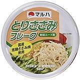マルハ とりささみフレーク 野菜スープ漬 80g