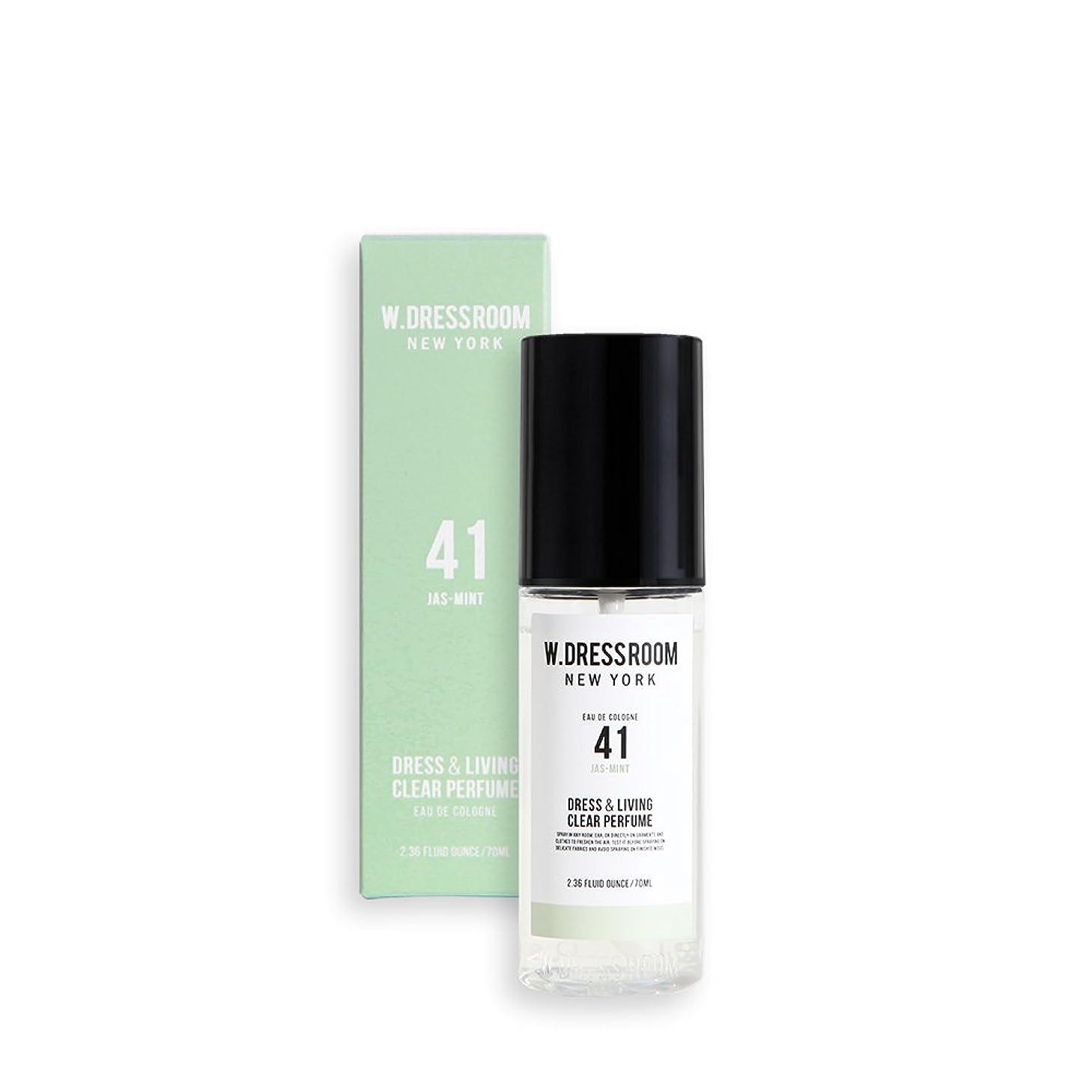 蜂違法個人的にW.DRESSROOM Dress & Living Clear Perfume 70ml/ダブルドレスルーム ドレス&リビング クリア パフューム 70ml (#No.41 Jas-Mint) [並行輸入品]