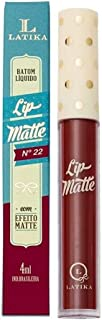 Batom Líquido Lip Matte - Nº 22