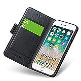 Funda iPhone 6, Funda iPhone 6S Libro, Carcasa iPhone 6 con Cierre Magnético, Tarjetero y...