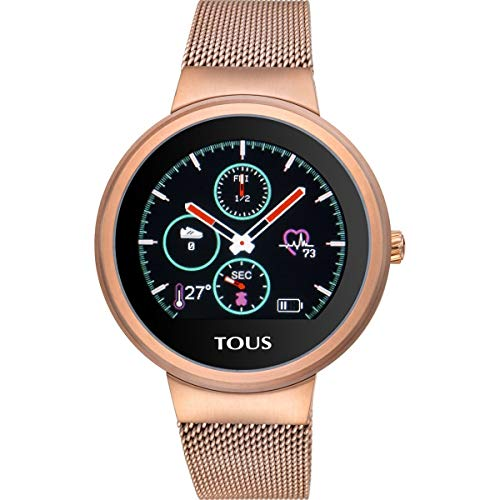 Reloj Tous Round Touch 000351650 - Reloj de Actividad en Acero Inoxidable...