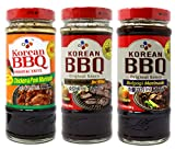 CJ Korean BBQ Bulgogi Marinade/Chicken&Pork Marinade/Kalbi Marinade for Ribs, Made with Pear and...