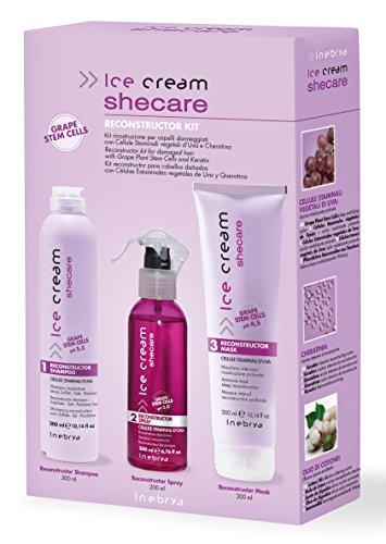 Shecare Reconstructor Kit - Rigenerazione professionale dei capelli con cheratina.