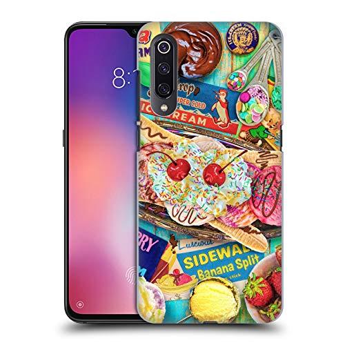 Officiële Aimee Stewart Banaan Split Kleurrijke snoepjes Hard Back Case Compatibel voor Xiaomi Mi 9