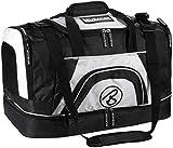 Brubaker 'Big Base' XXL Sporttasche 90 L mit großem Nassfach als Bodenfach + Schuhfach - Schwarz/Weiß