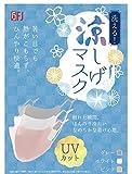 【夏セール 5枚セット】涼しげマスク マスク洗える 繰り返し使用可能 UVカット ひんやり 接触冷感 夏用 抗菌 冷感素材 クールマスク