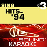 Sing Female Hits Of '94 Vol. 3 [KARAOKE]