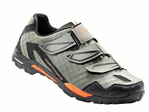 Northwave Outcross MTB Trekking Fahrrad Schuhe grün/orange 2018: Größe: 42