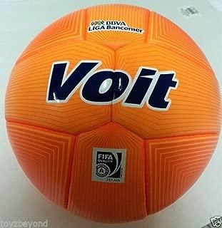 VOIT SOCCER BALL OFFICIAL MATCH BALL OF BBVA LIGA Bancomer Orange 2014 New 100% Original