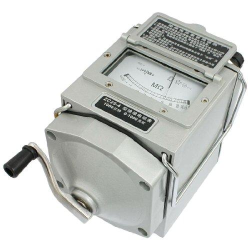 SODIAL(R) Megohmetro Medidor de Resistencia Aislamiento ZC25-4 (Herramientas y Mejora del hogar)