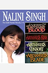 Nalini Singh: Guild Hunters Novels 1-4 (A Guild Hunter Novel) Kindle Edition