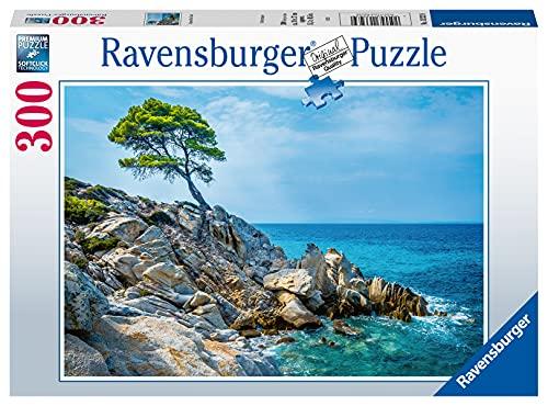Ravensburger 300 Pezzi, Mar egeo, Puzzle Adulti, Multicolore, 13323, Esclusiva Amazon