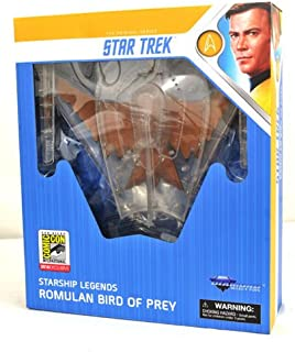 STAR TREK SDCC 2018 DC Exclusive Starship Legends Cloaked Romulan Bird of Prey
