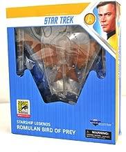 STAR TREK SDCC 2018 DC Exclusive Starship Legends Cloaked Romulan Bird of Prey