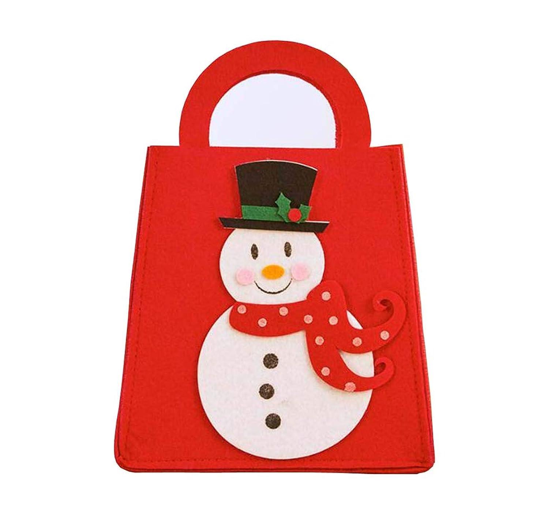 オアシス不明瞭疑い者素敵な美しいクリスマスギフトバッグ/クリスマスストッキング、収納袋、雪だるま