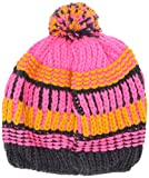 LEGO Wear Mädchen LWALFRED 717-Strickmütze mit Bommel Sombrero, Rosa (Dark Pink 474), 56 (Herstellergröße:56) para Niñas