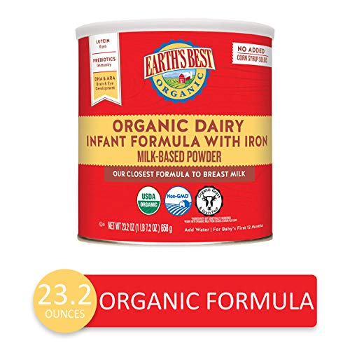 Earth's Best Organic Infant Formula review