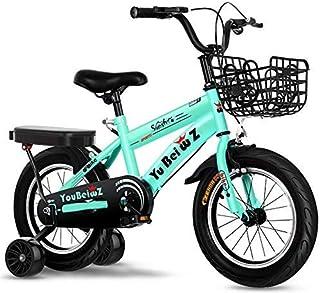 ZTBXQ Regalo Deportivo ldeas Freestyle Bicicletas para niños 12 Pulgadas Moda Deporte niños Bicicleta Ejercicio de