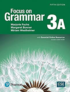 Focus on Grammar 3 Student Book a with Essential Online Resources