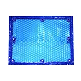 Cobertor Solar Piscinas Tina Caliente Del Balneario Solar Cubierta de Piscinas, Flotante Térmica Rectangular Manta Lona Alquitranada, para Interior Exterior Piscinas de Estructura, Piscinas Sobre el S