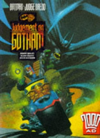 Batman, Judge Dredd: Judgment on Gotham (2000 AD) by John Wagner (17-Sep-1992) Paperback