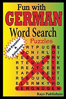 Fun with German - Word Search Puzzles (Volume 1) (German Edition)