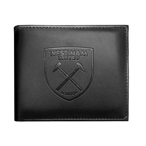 West Ham United FC - Cartera oficial con el escudo grabado