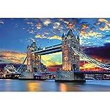 DUYUJIE 1000 Piezas De Rompecabezas London Tower Bridge Descompresión Juguetes Intelectuales para Niños Dificultades Y Desafíos