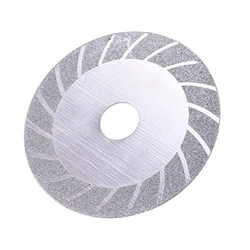 Durable Rueda de molienda, hoja de sierra de diamante galvanizada, corte de molinillo de ángulo, herramienta giratoria Adecuado para cortar (Envío desde : 1pcs)