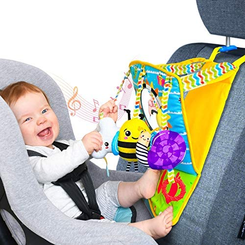 Small Steps Mirror Me Infant Car Seat Toy Rear Facing Activity Play Center Interchangeable Sensory product image