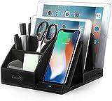 EasyAcc Wireless Charger Induktionsladegeräte Kabelloses Ladegerät Tisch Organizer Ständer USB...