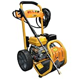 RocwooD Electric Start Petrol Pressure Power Jet Washer 3950 PSI 8HP 12M Hose