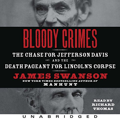 Bloody Crimes audiobook cover art