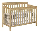 Dream On Me, Ashton 5-in-1 Convertible Crib, Natural