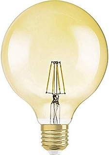 Osram LED Vintage 1906 Lamp, Globe Shape, Warm White