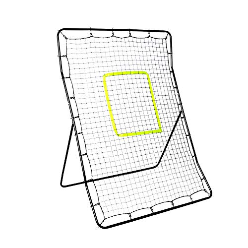 DRM Baseball Softball Rebounder Pitchback Rebound Net- Pitching and Throwing Practice Return Net for Kids and Adults - Pitcher Throwing Practice Trainer