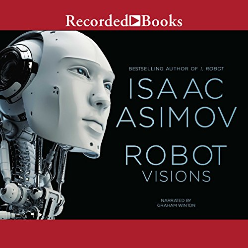 Robot Visions audiobook cover art