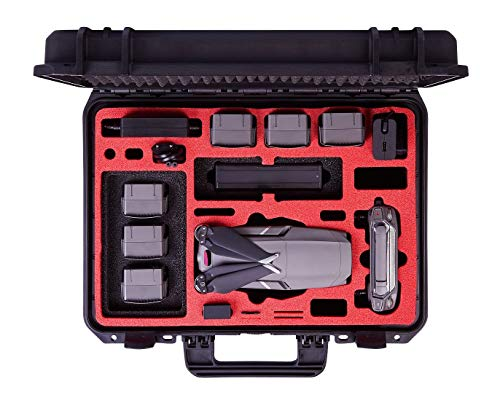 MC-CASES® Koffer für DJI Mavic 2 Pro & Zoom - Explorer Edition - mit viel Platz für Zubehör (Smart Controller + Standard Controller) - Made in Germany