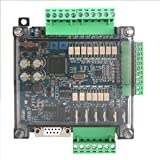 Scheda di controllo industriale, FX3U-14MT analogico 6AD + 2DA 24V 1A PLC scheda di controllo programmabile industriale Logica programmabile Uscita relè