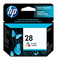 HP 28 Tri-color Original Ink Cartridge (C8728AN) 【Creative Arts】 [並行輸入品]